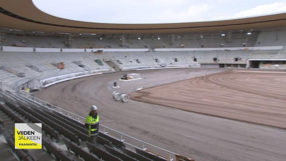 Olympiastadionin Remontti