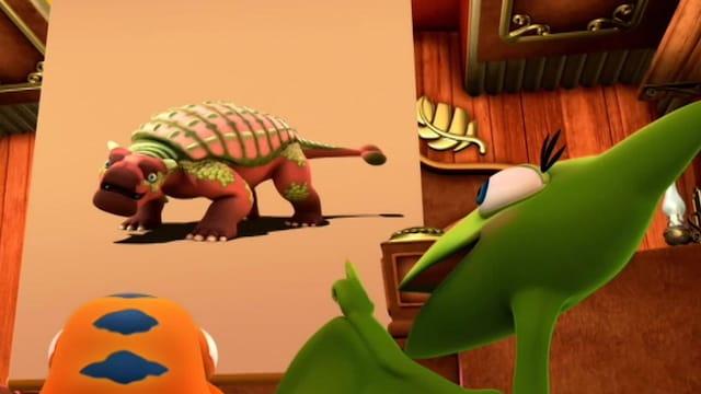 17. Ankylosauriin panssarit