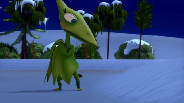 33. Dinosaurukset lumessa