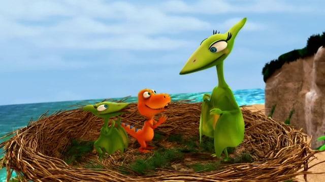 9. Eräs viisas dinosaurus