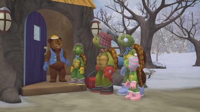 23. Franklin ja lumilohikäärme