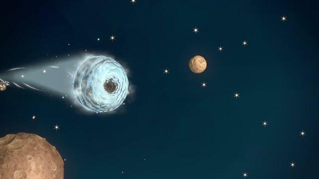 16. Jättiläiskomeetan planeetta, osa 1