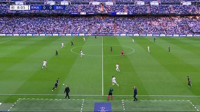 Maalikooste: Real Madrid - Club Brugge