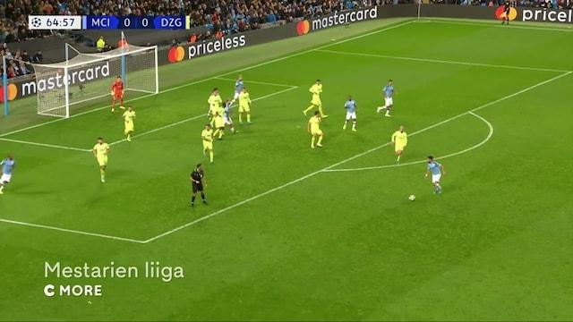 Maalikooste: Manchester City - Dinamo Zagreb