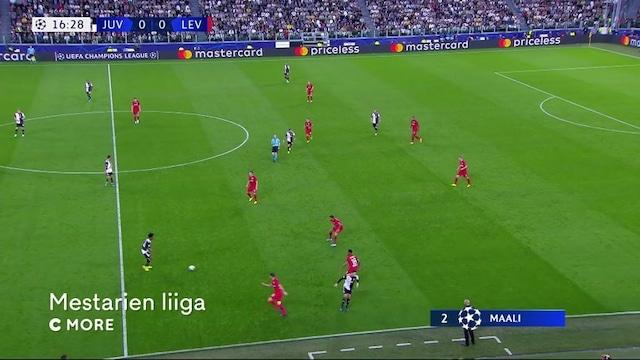 Maalikooste: Juventus - Bayer Leverkusen