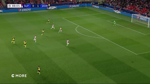 Maalikooste: Slavia Praha - Borussia Dortmund