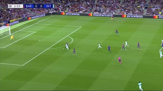 Maalikooste: Barcelona - Inter Milan