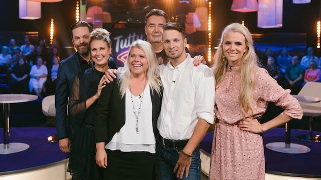 5. Linda Wiklund ja Mikko Nousiainen sekä Pia Elonen ja Tomi Hirvonen