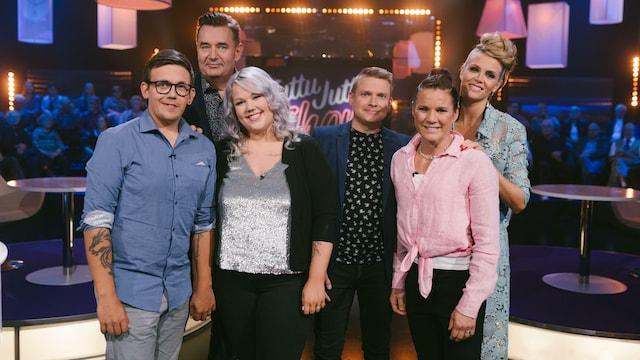 6. Mira ja Henri Potkonen sekä Suvi ja Matti Lamminaho