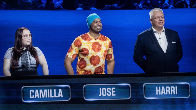 2. Harri, José ja Camilla