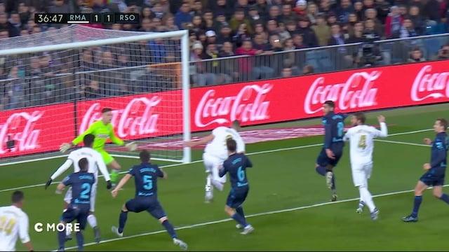 Maalikooste: Real Madrid - Real Sociedad