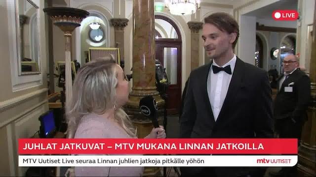 Linnan juhlat 2019, Roope Salminen kertoo itsenäisyyspäivän vietostaan – ensimmäinen kerta Linnan juhlien jatkoilla!