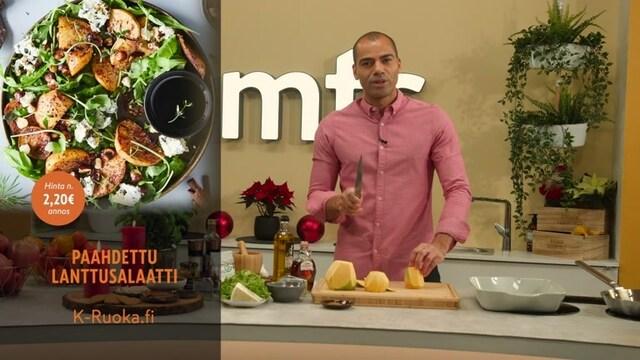 Mitä tänään syötäisiin?, Jakso 181: Paahdettu lanttusalaatti