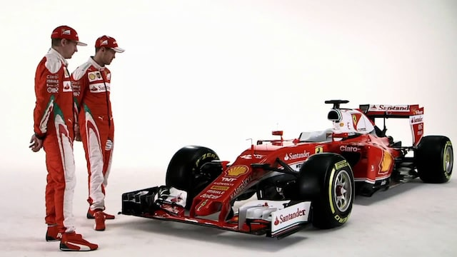 Ferrarin tanssiva hevonen
