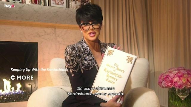 Keeping Up with the Kardashians, Kris Jenner lukee satuja