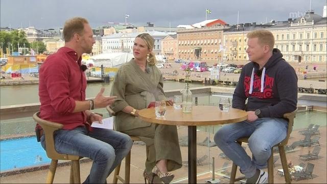 2. Sampo Kaulanen sekä  Jutta ja Juha Larm