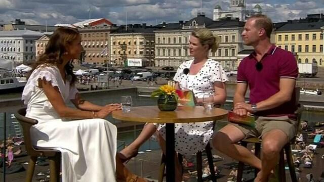 8. Karita Tykkä ja Mikael Jugner