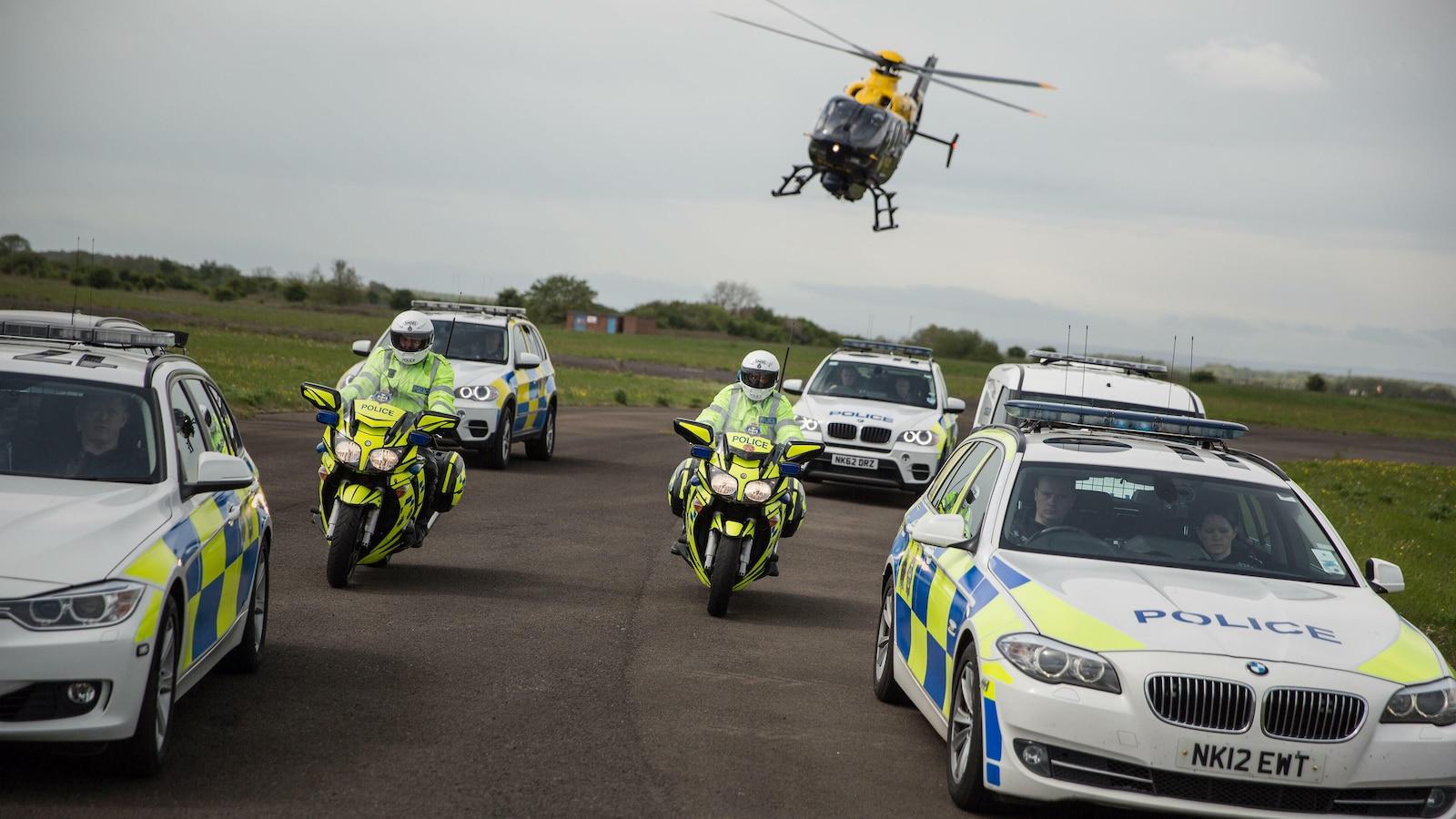 Poliisit UK: Ajojahti