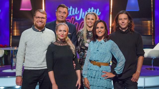 4. Mira Luoti ja Mika Haapasalo sekä Emilie Mattern ja Marlo Puro