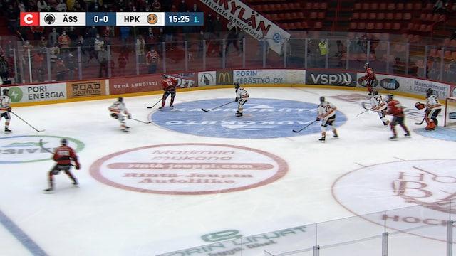 Karussa jäähysumassa tarponut Ässät kampesi kaksi pistettä − HPK:n Jared McIsaac loukkaantui ensimmäisessä liigavaihdossaan - 07.10.2020 - Ässät - HPK - LIIGA - Otteluraportti - Jatkoaika.com - Kaikki jääkiekosta