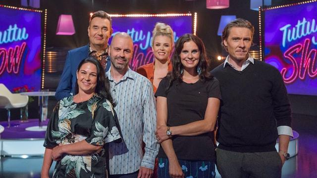 Tuttu Juttu Show, Jakso 3: Olga ja Tuukka Temonen sekä Laura ja Pasi Sauna-aho