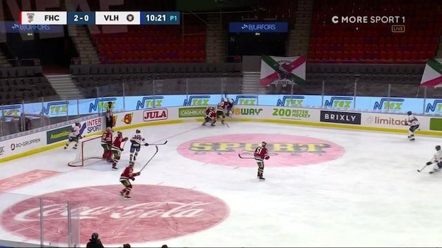 SHL, Frölundan Joel Mustoselta raju taklaus SHL-kierroksella – suomalaishyökkääjälle suihkukomennus