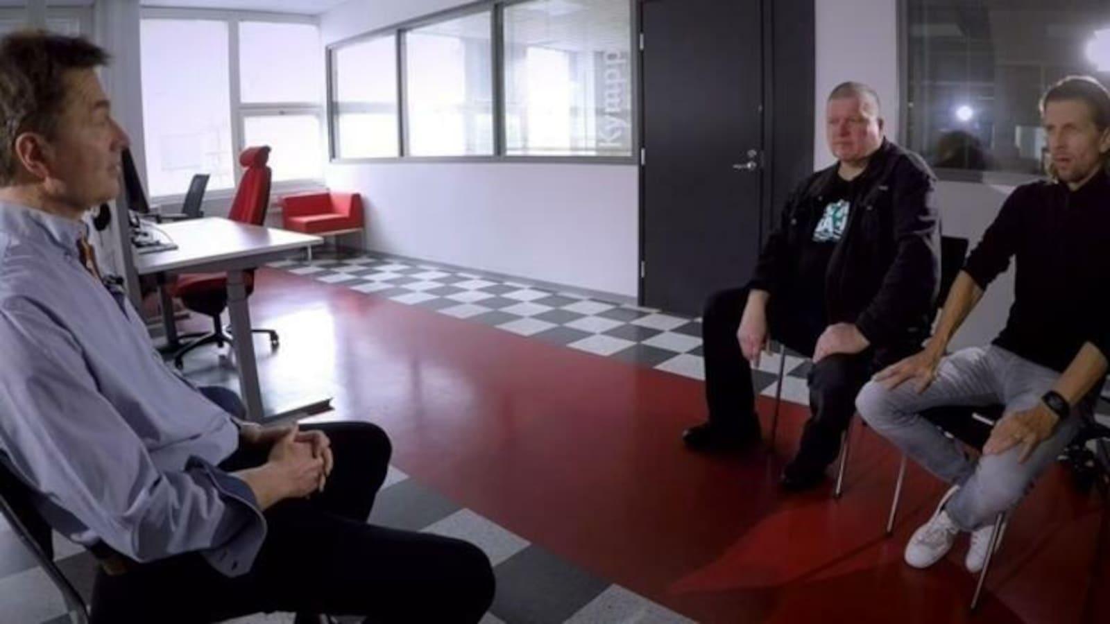 6. Studiossa poliisiylijohtaja Seppo Kolehmainen