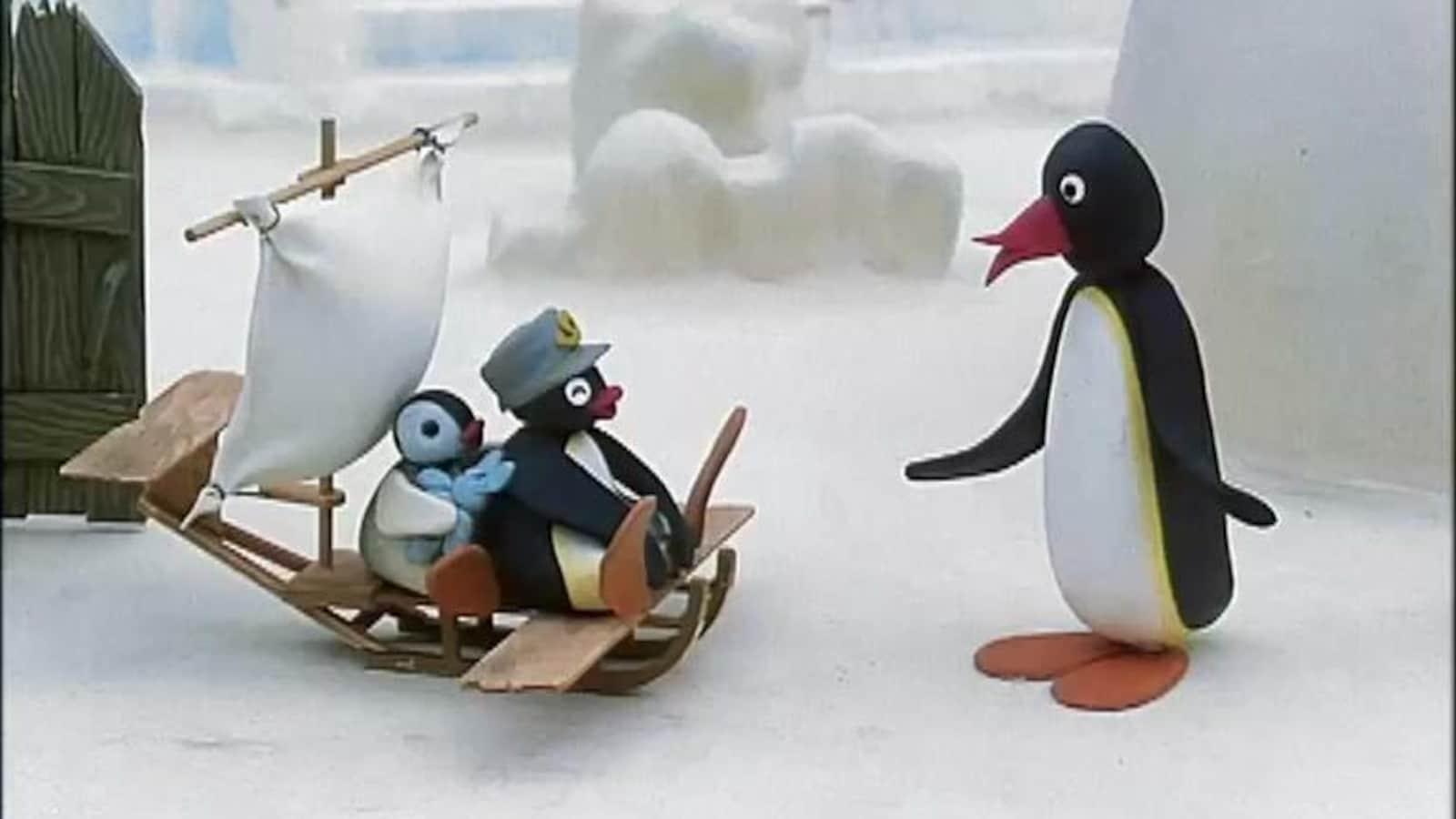 14. Pingu lentäjänä