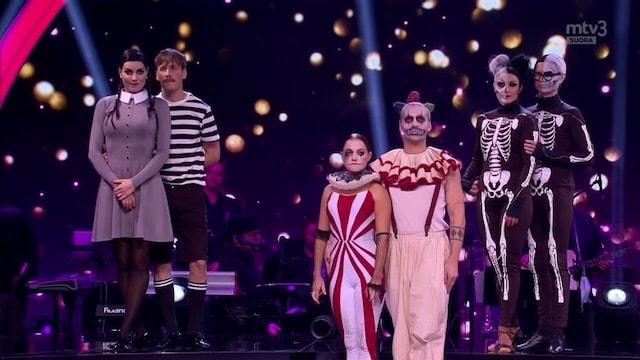 Tanssii Tähtien Kanssa, Jakso 9: Halloween!