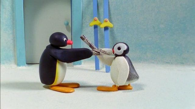 19. Pingu ja Pinga leikkivät