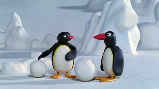 26. Pingu ja lumipallo