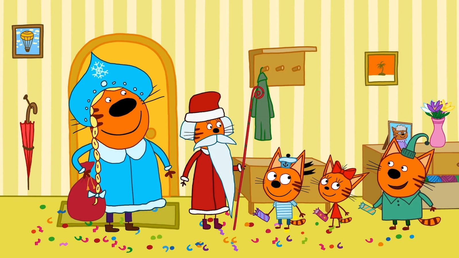24. Joulupukki ja pakkaskeiju