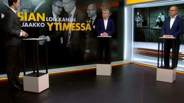 12. Asian ytimessä, Jaakko Loikkanen