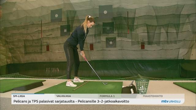Golf, Sanna Nuutinen tähtää korkealle – unelmana olympialaiset ja majorin voitto