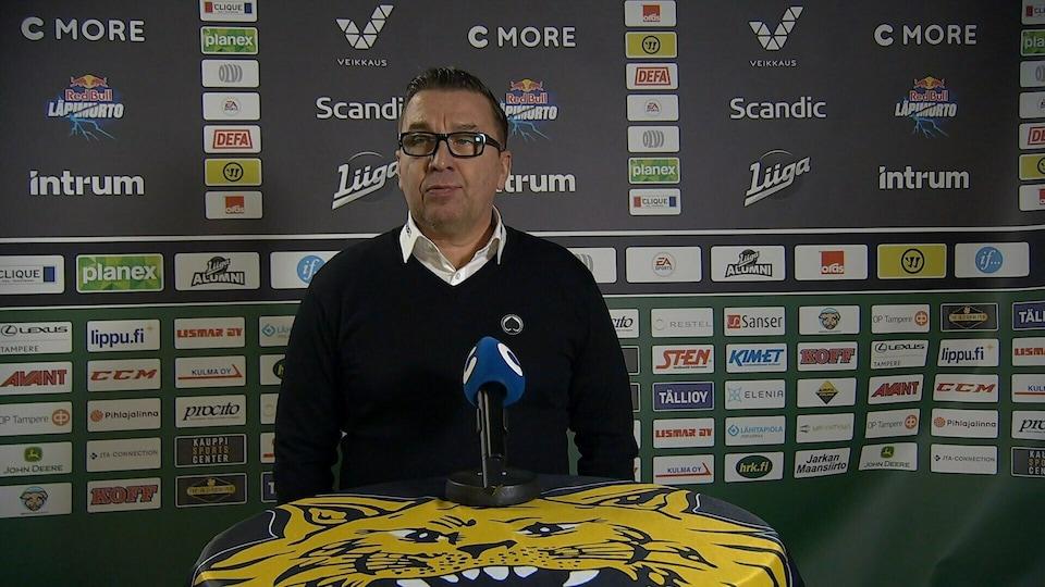 Ilves - Ässät - Lehdistötilaisuus