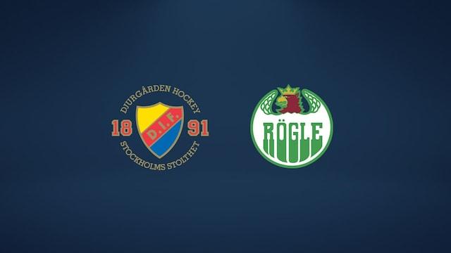 Djurgården - Rögle