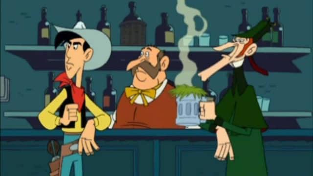 6. Lucky Luke vastaan Sherlock Holmes