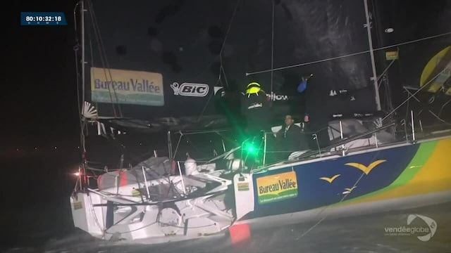Vendée Globe -yksinpurjehduskilpailu