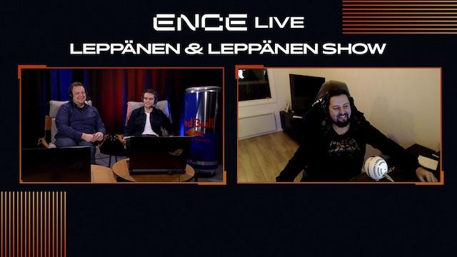 """ENCE TV, Leppänen & Leppänen Show - jakso 6 - Vieraana Niklas """"Willkey"""" Ojalainen"""