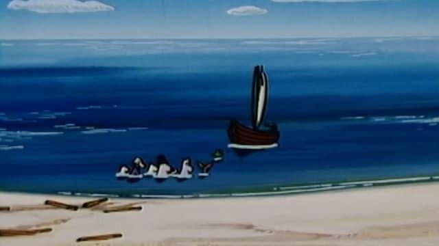 6. Taidenäyttely hiekkarannalla