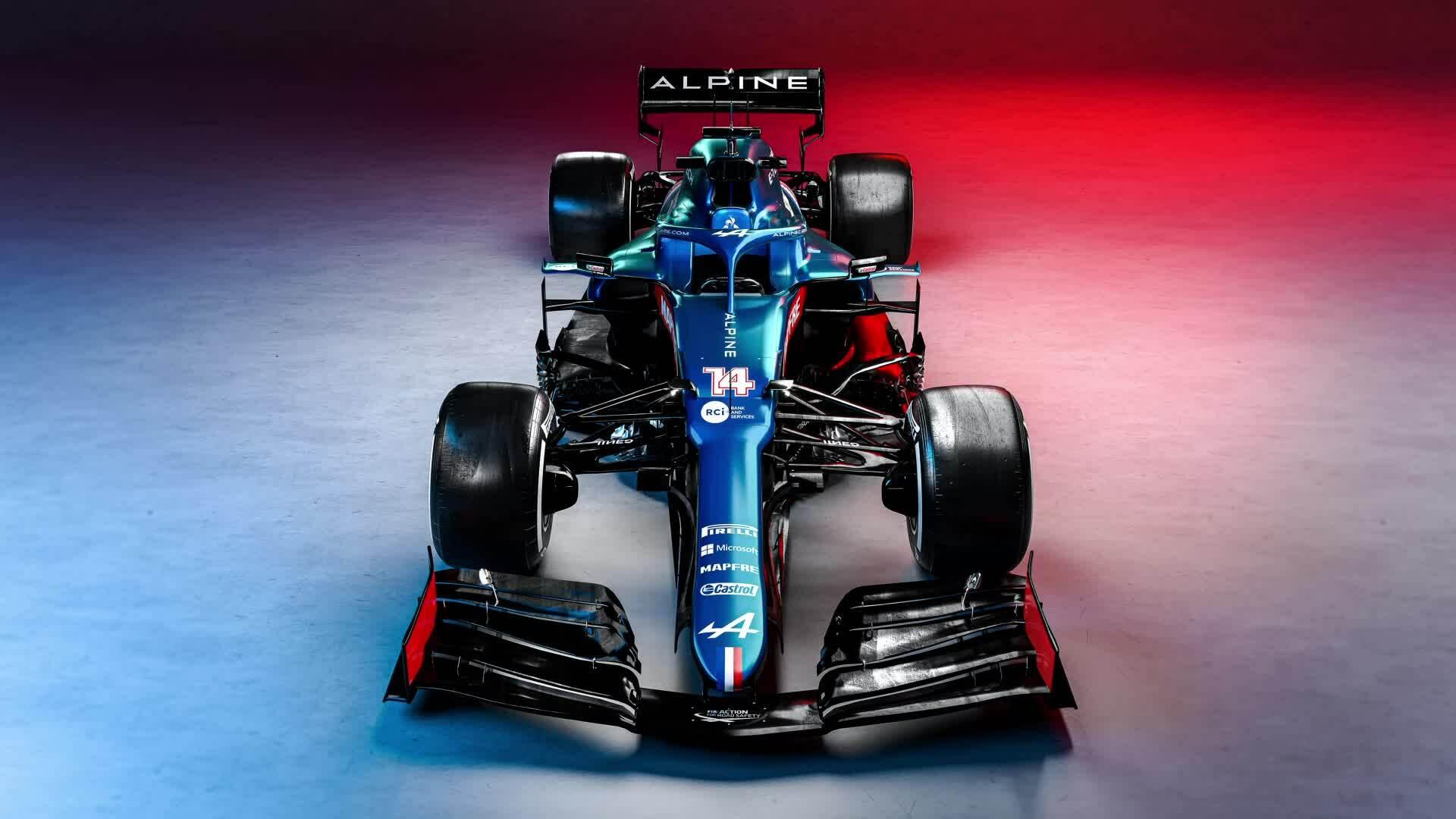 Formula 1 - Tältä näyttää Alpinen uusi F1-auto