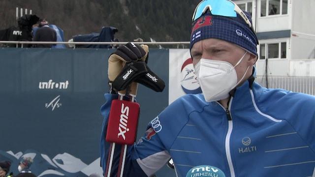 """Maastohiihto: MM-Oberstdorf, Iivo Niskanen aloitti vauhdikkaasti, mutta hyytyi raskaassa kelissä: """"Oma hiihto meni huonoksi"""""""