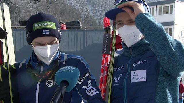 """Yhdistetty: MM-Oberstdorf, Ilkka Herola ja Eero Hirvonen sijoittuivat parisprintissä viidenneksi: """"Aika tekemätön paikka"""""""