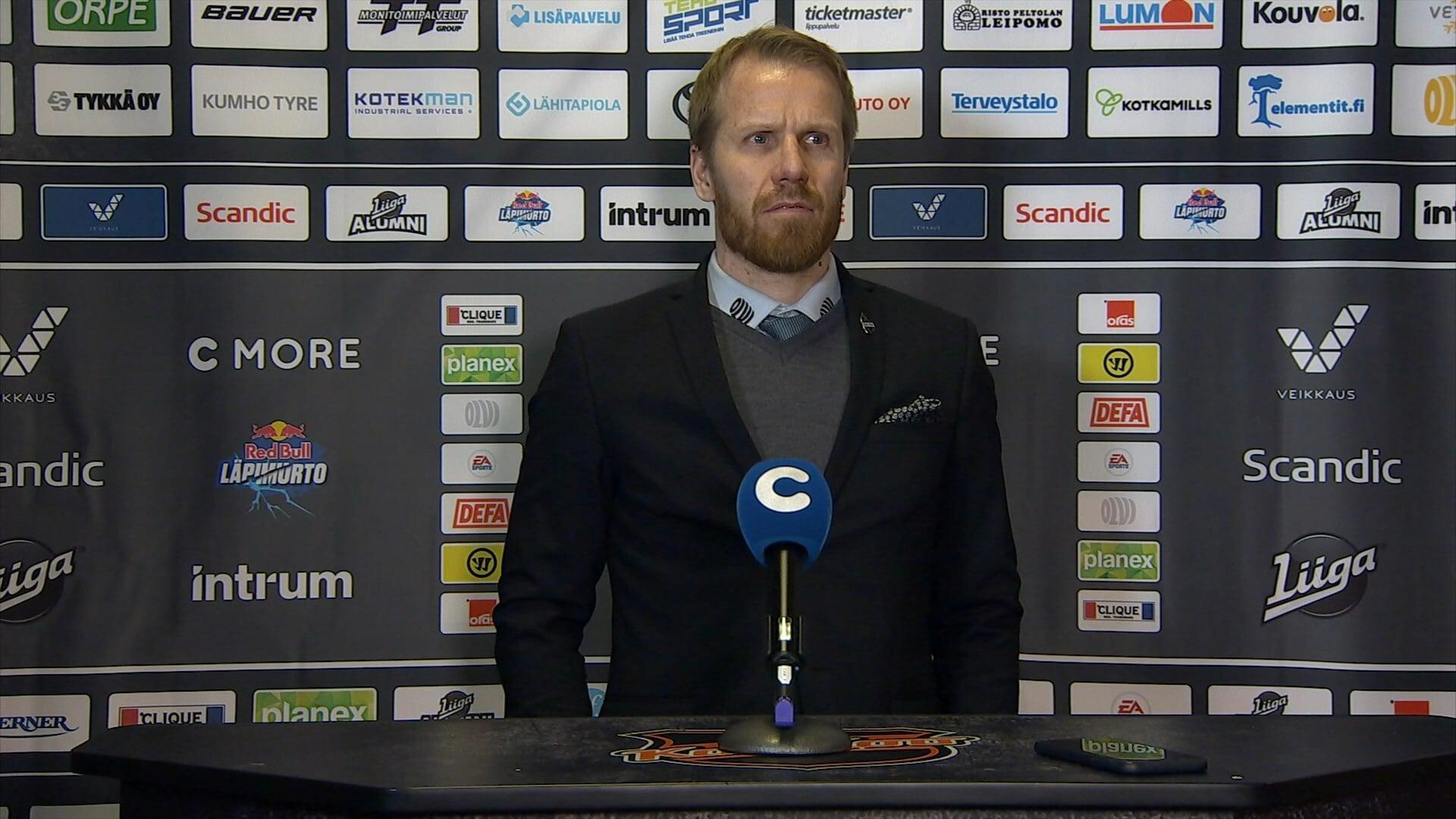 Liiga - Lehdistötilaisuus: KooKoo - KalPa