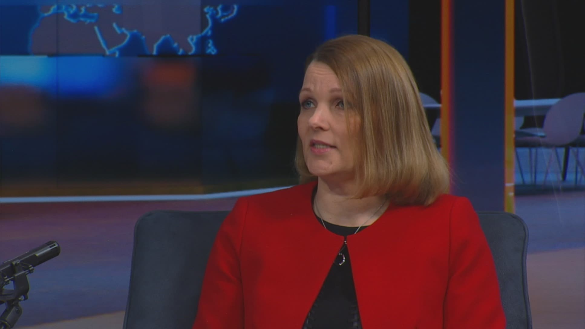 Uutisextra, Vieraana Kaupan liiton toimitusjohtaja Mari Kiviniemi