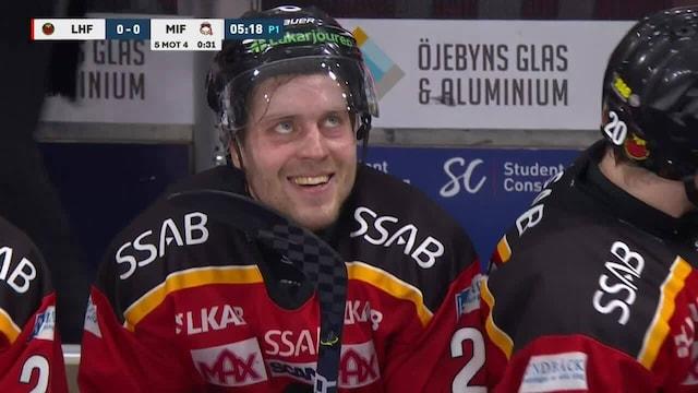 SHL, Luulajan Juhani Tyrväinen sukelsi näyttävästi, naureskeli vastustajan jäähylle – sai SHL:ltä sakot jälkikäteen