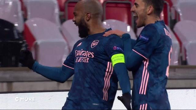 Eurooppa-liiga, Maalikooste: Slavia Praha - Arsenal