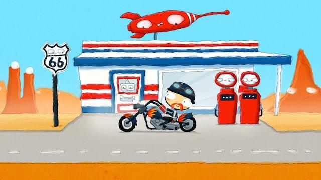 4. Moottoripyörän