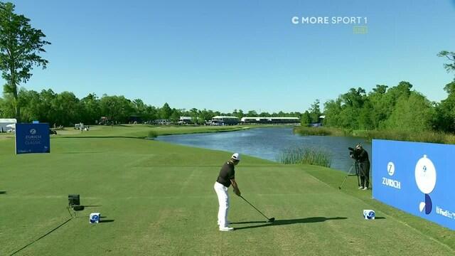 PGA TOUR Golf, PGA-golfkisan voittotaisto venyi jatkorei'ille: Louis Oosthuizenin avauslyönti dramaattisesti veteen