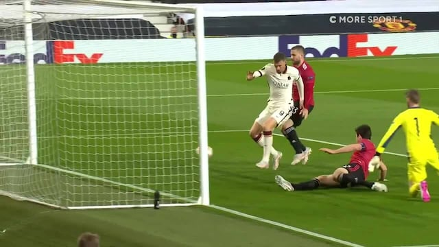 "Eurooppa-liiga, ""Vanha ManU:n tappaja"" Edin Džeko osuu jälleen Old Traffordilla ja siirtää AS Roman 2-1 -johtoon"